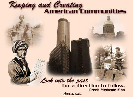 Keeping and Creating American Communities